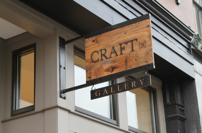 Craft(s) Gallery Sign