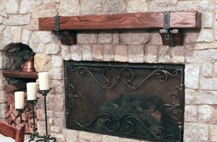 Gun Hooks, Mantle Brackets & Firescreen