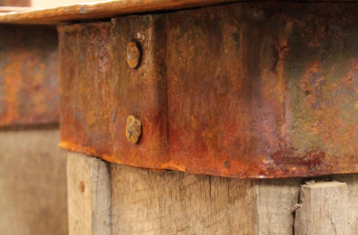 Accelerated Rust Patina