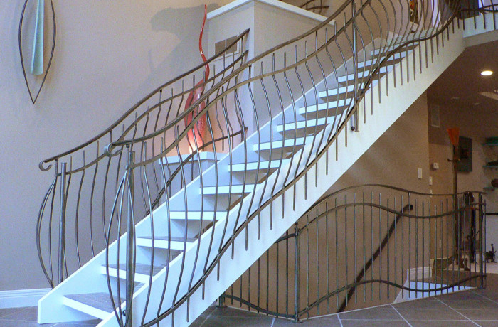 contemporary railing